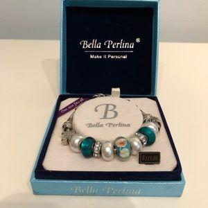 Bella Perlina Beach Charm Bracelet
